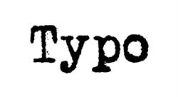 TYPO CAIRNS DFO