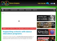Footsteps Dance Co Pty Ltd's website