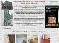 Kalafrana Ceramics's website