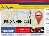 Zupps Gold Coast's website