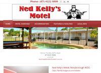 Ned Kelly's Motel's website