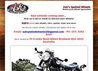 Ash's Spoked Wheelz's website