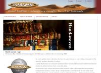 Karavan Oriental Carpets's website