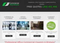 Commercial Clean Brisbane's website