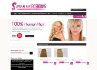 Lavadene Hair Extensions's website