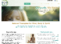 Chrysalis Wellbeing's website