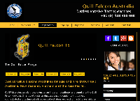 Quill Falcon Australia's website