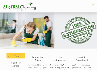 Austral Cleaning's website