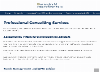 Butterfield Consulting Services's website