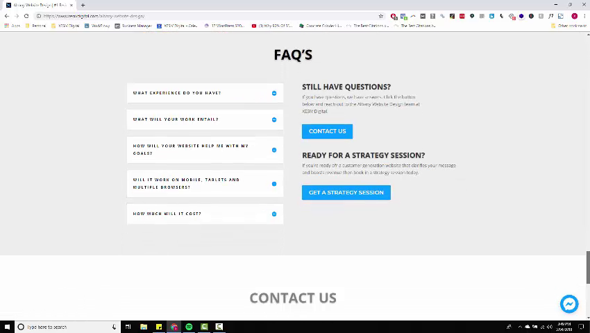Albany Website Design